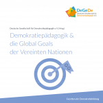 "Faltblatt ""Demokratiepädagogik & die Global Goals der Vereinten Nationen"""